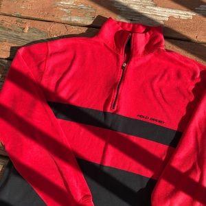 90s Polo Sport 1/4 zip sweater
